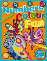 Numbers Colour Fun Book 2