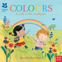 Colours A Walk in the Countryside Board Book (Mar