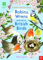 Robins, Wrens & Other British Birds Sticker Book (Mar)