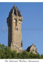 National Wallace Monument Classic Postcard (VA6)