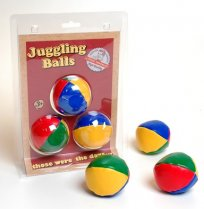 Retro Juggling Balls Set of 3 Large