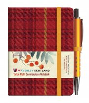 Tartan Cloth Notebook Mini: Rowanberry (Jun)