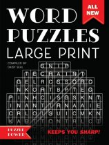 Word Puzzles Large Print (Sep)