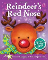 Reindeer's Red Nose Sticker Activity (Sep)