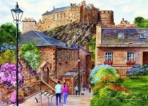 Jigsaw Edinburgh the Vennel 1000pc