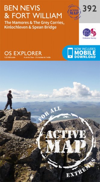 Explorer Active 392 Ben Nevis & Fort William