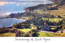 Inveraray & Loch Fyne Postcard (HA6)