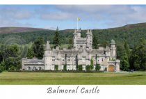 Balmoral Castle Postcard (HA6)