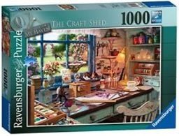 Jigsaw My Haven: The Craft Shed 1000pc (May)