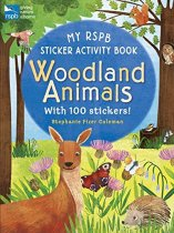 My RSPB Woodland Animals Sticker Activity Book (Jul