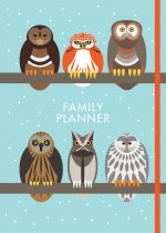 I Like Birds: Parliament of Owls Family Planner (Sep)