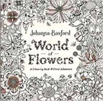 World of Flowers Colouring Book