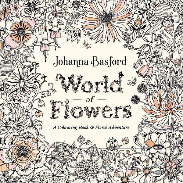 World of Flowers Colouring Book (Oct)