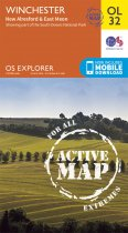 Explorer Active OL 32 Winchester, New Alresford & E Meon