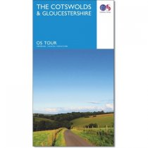 OS Tour The Cotswolds & Gloucestershire