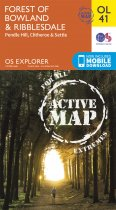 Explorer Active OL 41 Forest of Bowland & Ribblesdale