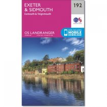 Landranger 192 Exeter & Sidmouth, Exmouth & Teignmouth