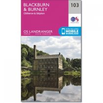 Landranger 103 Blackburn & Burnley, Clitheroe & Skipton