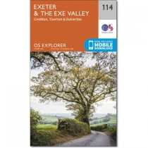 Explorer 114 Exeter & the Exe Valley