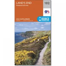 Explorer 102 Land's End, Penzance & St Ives