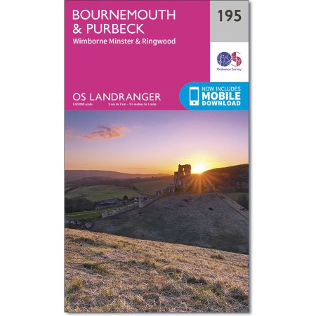 Landranger 195 Bournemouth & Purbeck