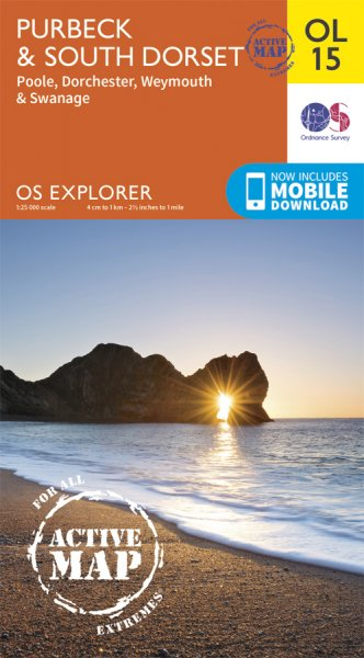 Explorer Active OL 15 Purbeck & South Dorset, Poole