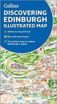 Discovering Edinburgh Illustrated Map (Apr)