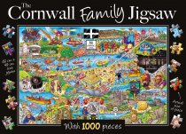 Jigsaw Cornwall Family 1000pc (Feb)