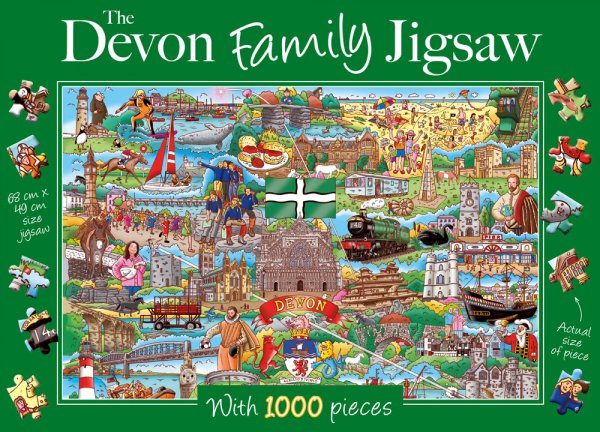 Jigsaw Devon Family 1000pc
