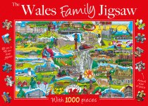 Jigsaw Wales Family 1000pc