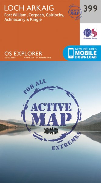 Explorer Active 399 Loch Arkaig - Fort William & Corpach