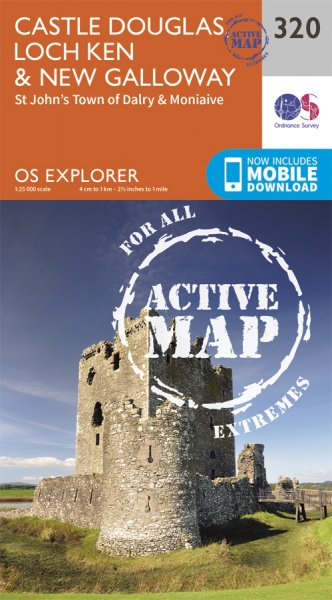 Explorer Active 320 Castle Douglas, Loch Ken & New Galloway