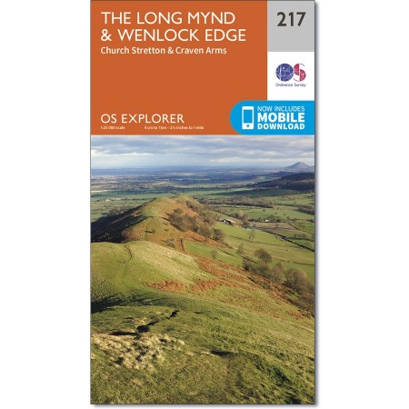 Explorer 217 Long Mynd & Wenlock Edge