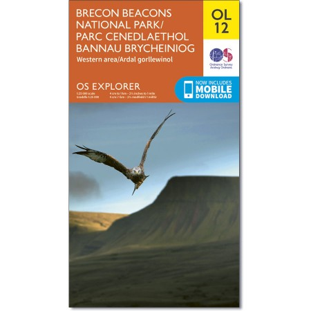Explorer OL 12 Brecon Beacons West & Central