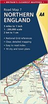 AA Road Map 07 Northern England