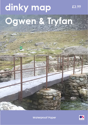 Dinky Map Ogwen (Waterproof)