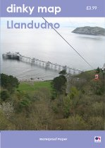 Dinky Map Llandudno & Great Orme (Waterproof)