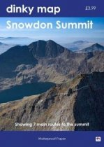 Dinky Map Routes Up Snowdon (Waterproof)