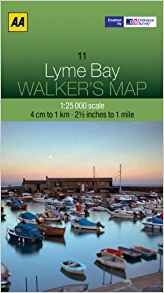 Walkers Map 11 Lyme Bay