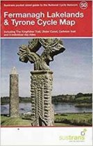 Fermanagh Lakelands & Tyrone 50 Cycle Route Map