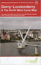 Derry/Londonderry & the North West 51 Cycle Route Map