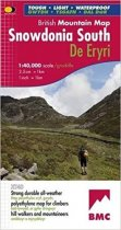 British Mountains Map Snowdonia South