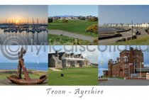 Troon, Ayrshire Postcard (H A6 LY)