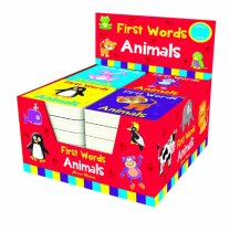 First Words Animals Board Books 4 Asst (Brown Watson)
