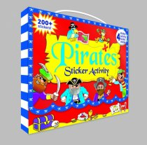 Pirates Sticker Activity Carry Case (Brown Watson)