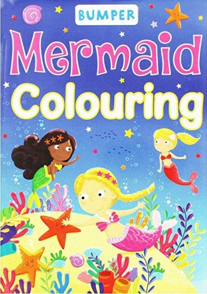 Bumper Mermaid Colouring