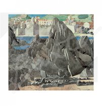 Mackintosh Rock Textile Greetings Card