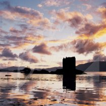 Castle Stalker, Appin, Argyll 2 Greetings Card (CB)