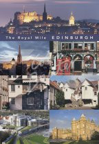 Royal Mile Comp, Edinburgh Postcard (V Std CB)