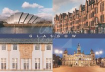 Glasgow City Comp, Glasgow Postcard (H Std CB)